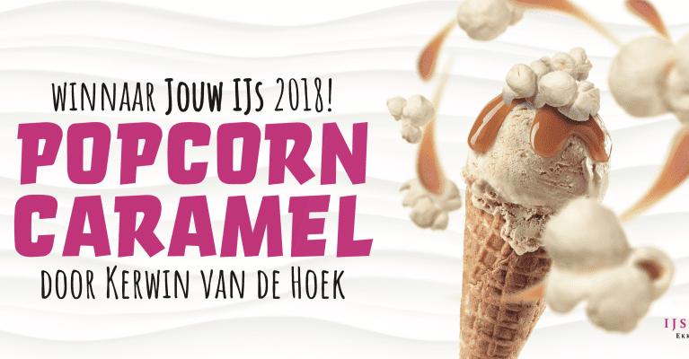 Popcorn-caramel wint ijswedstrijd